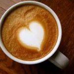 コーヒーとハートマーク