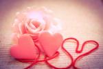 薔薇とハート